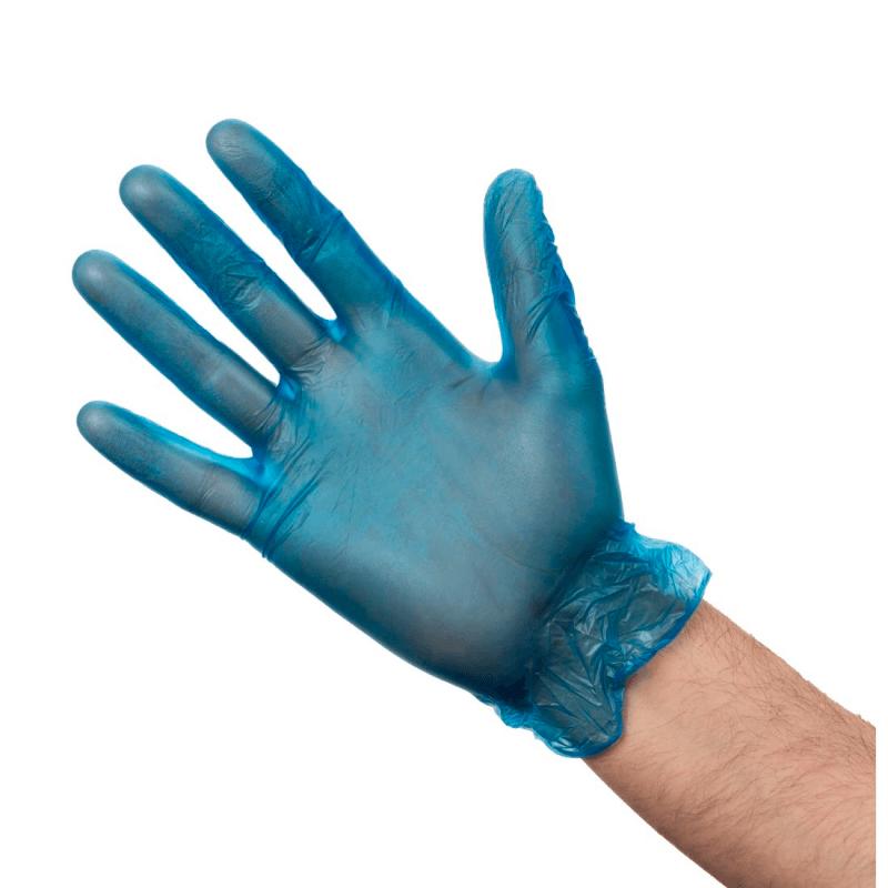 Vinyl Gloves Blue