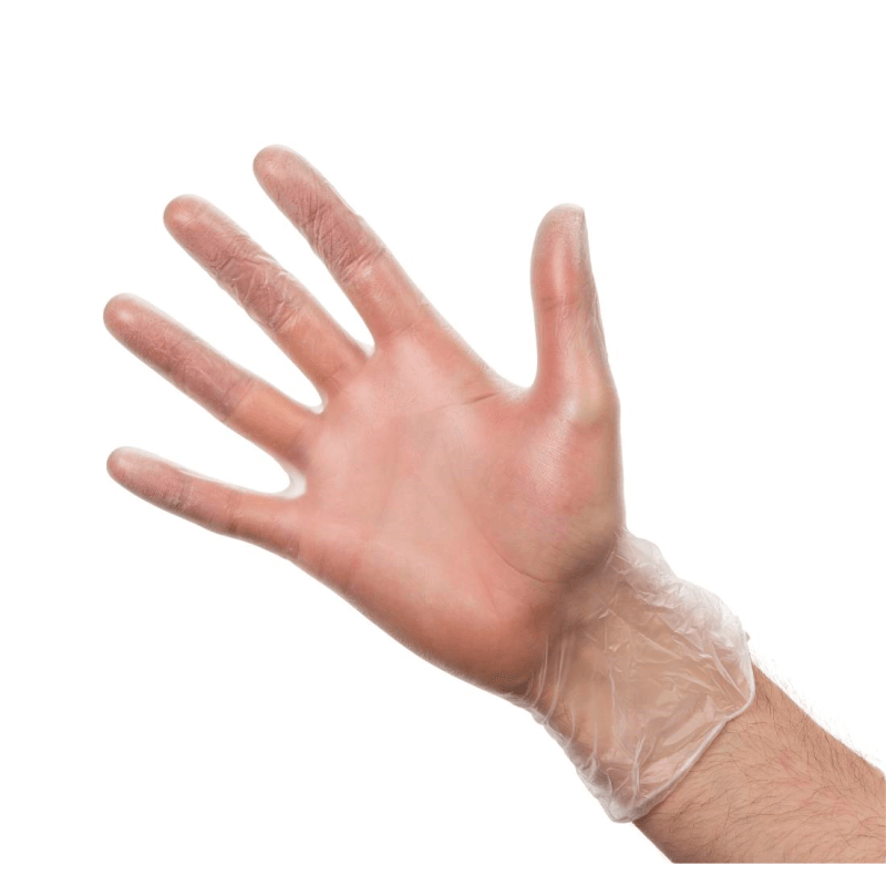 Vinyl Gloves Clear