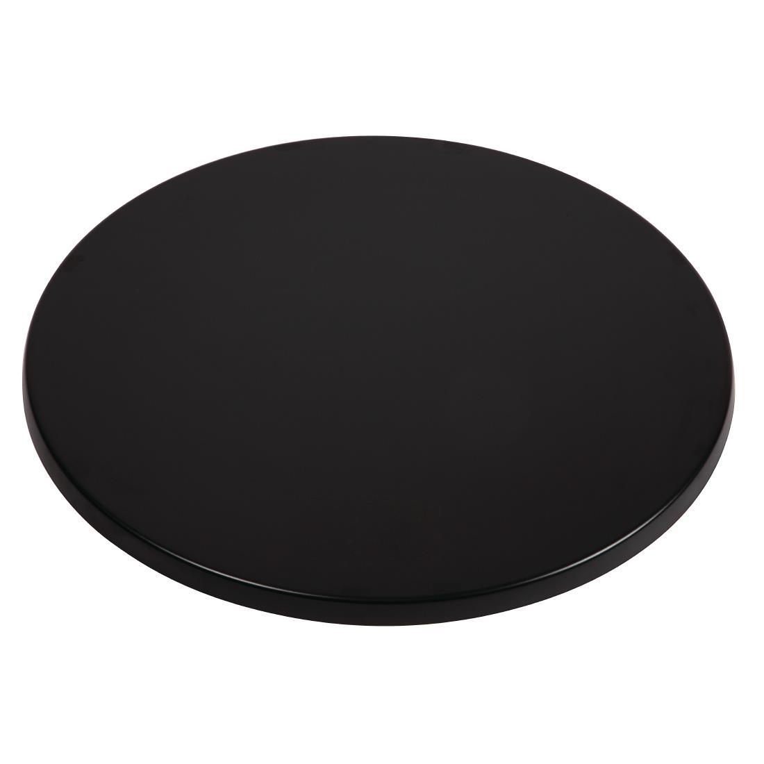 Werzalit Round - Black