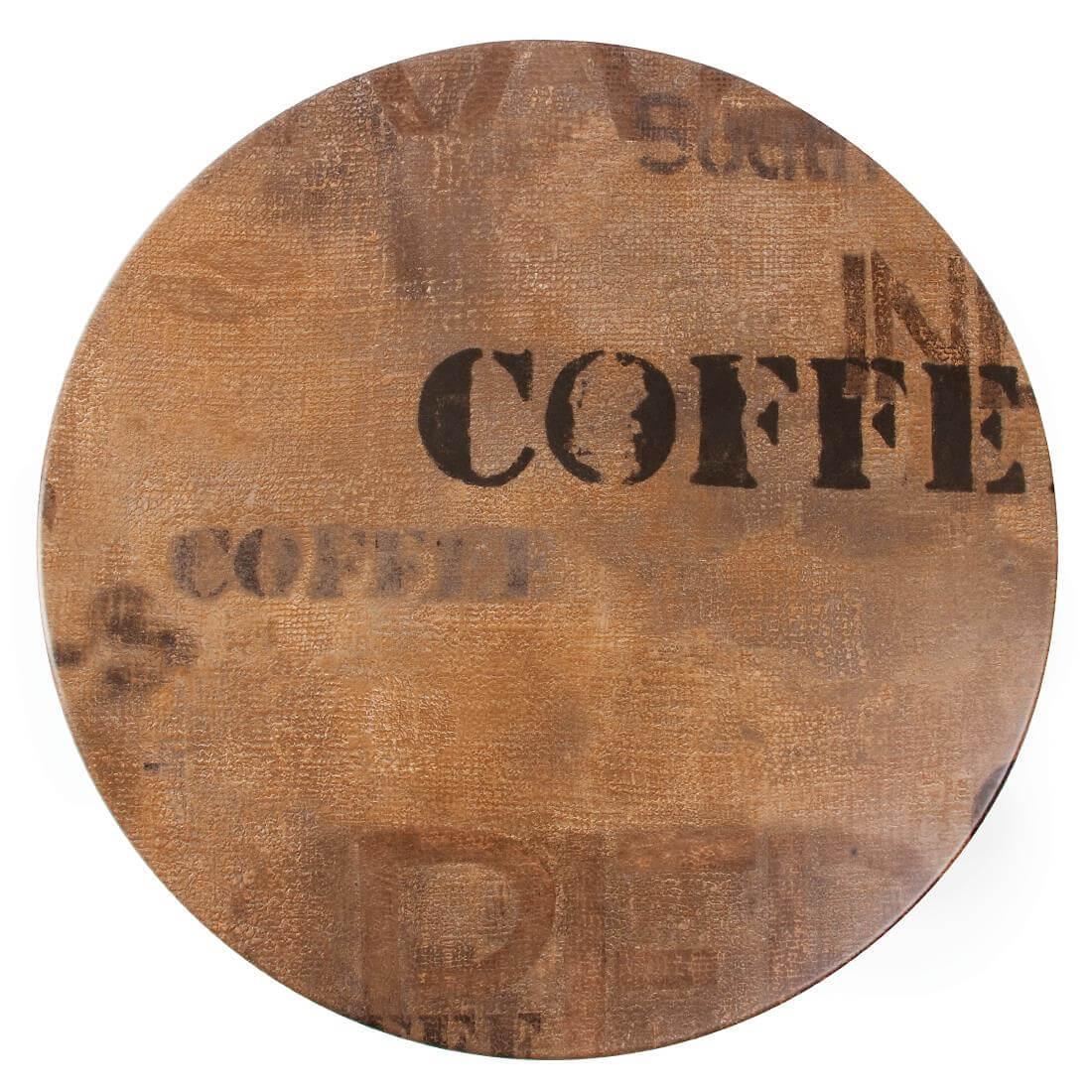 Werzalit Round - Coffee
