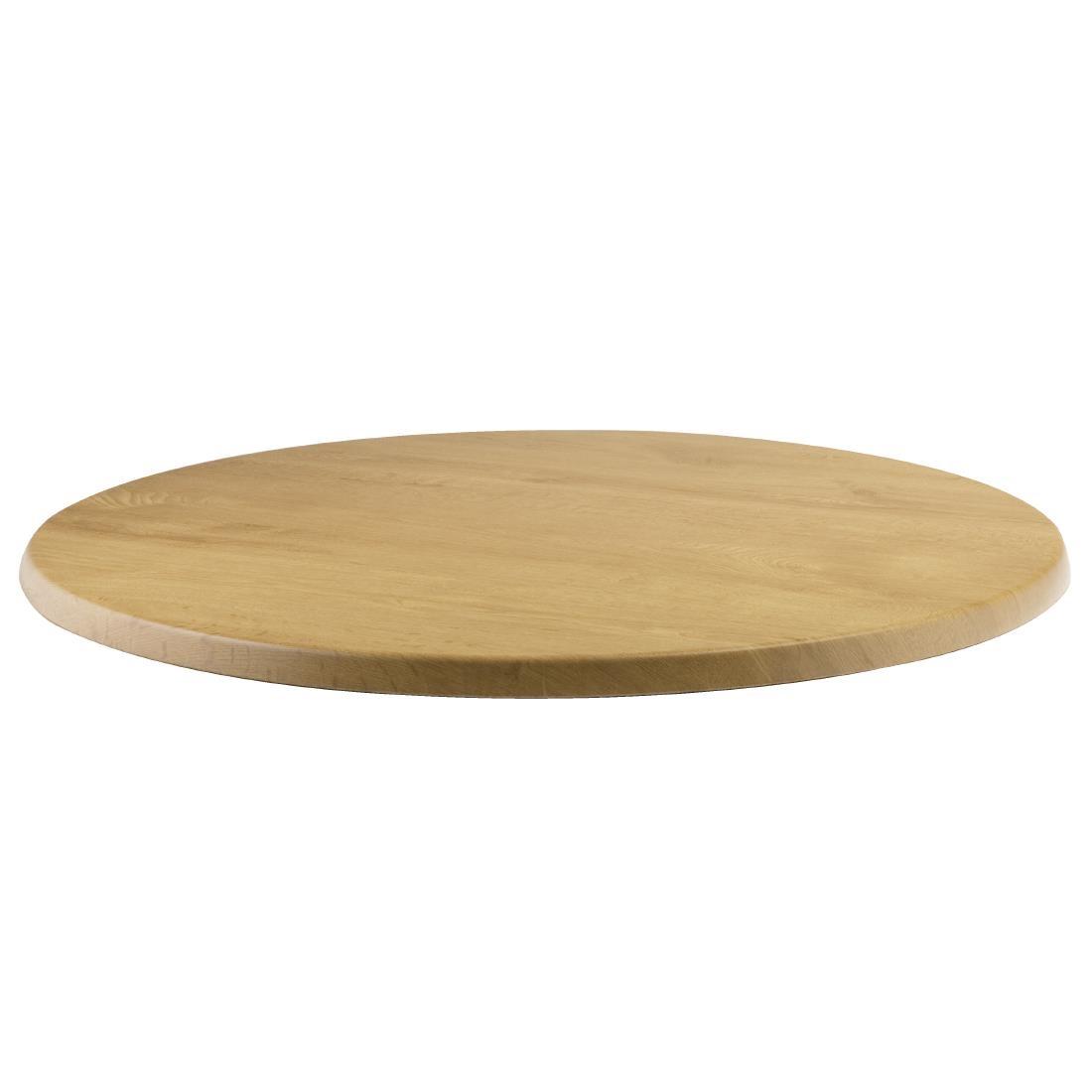 Werzalit Round - Oak