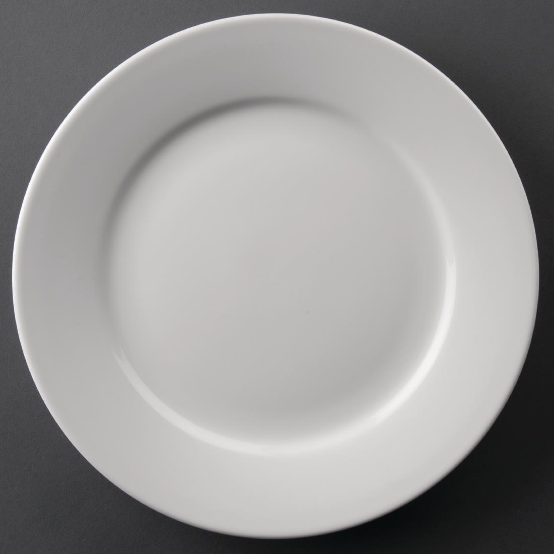 Wide Rimmed Plate