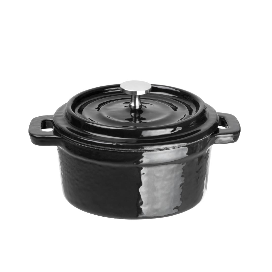 Cast Iron Round Mini Pot