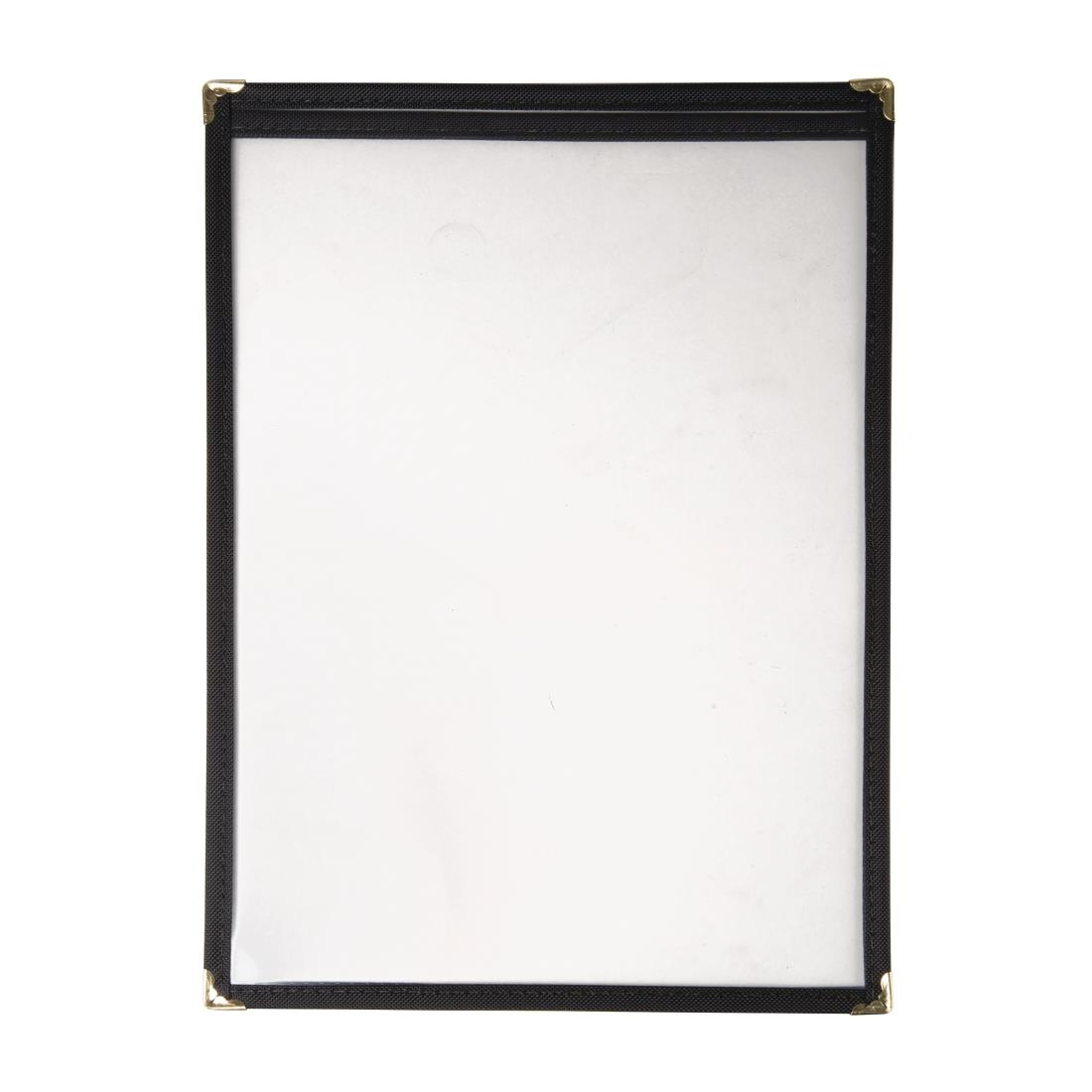 Olympia American Style Menu Cover Black