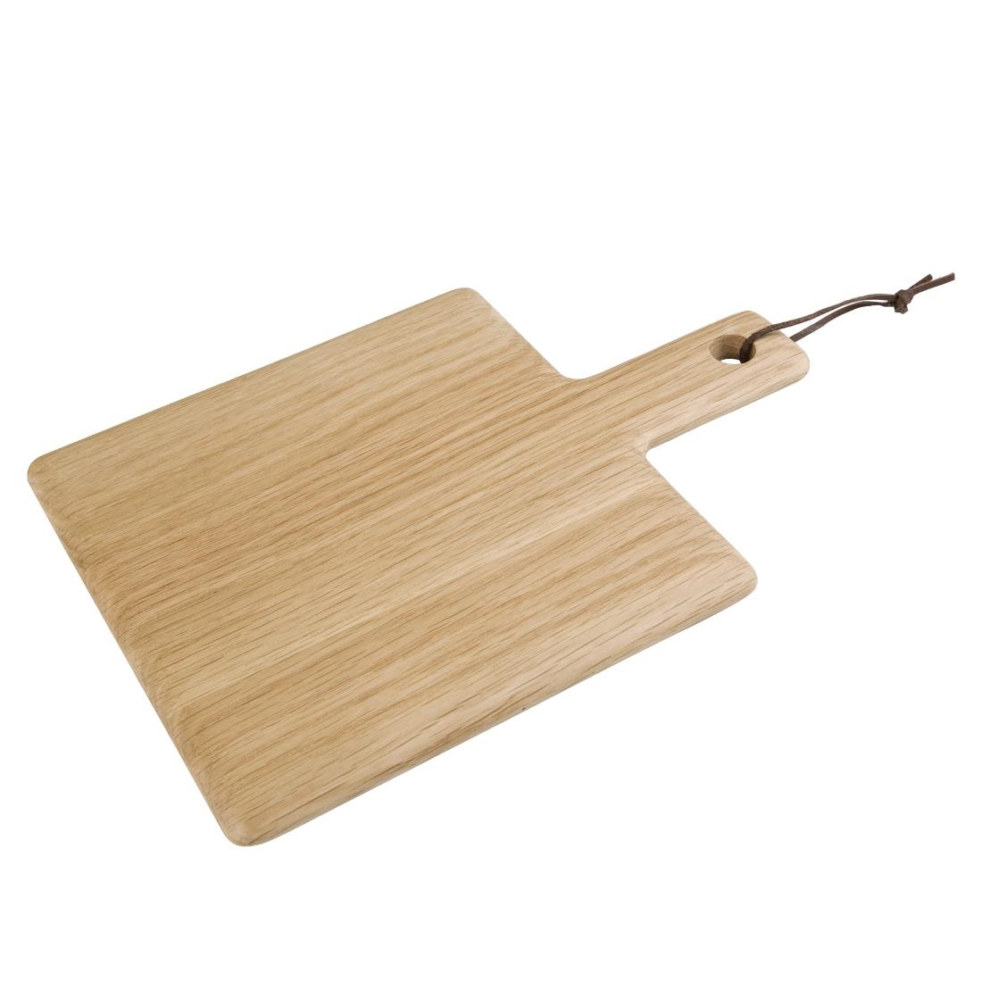 Olympia Oak Wood Handled Wooden Board