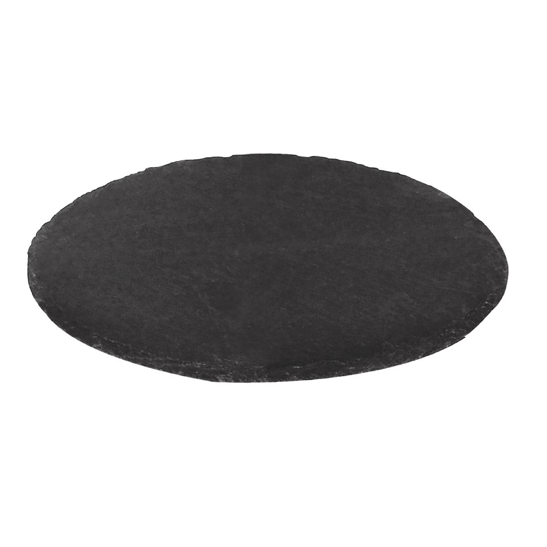 Olympia Slate Round Pizza Board 330mm