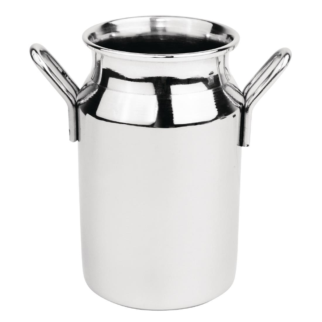 Olympia Stainless Steel Mini Milk Churn Medium 120ml