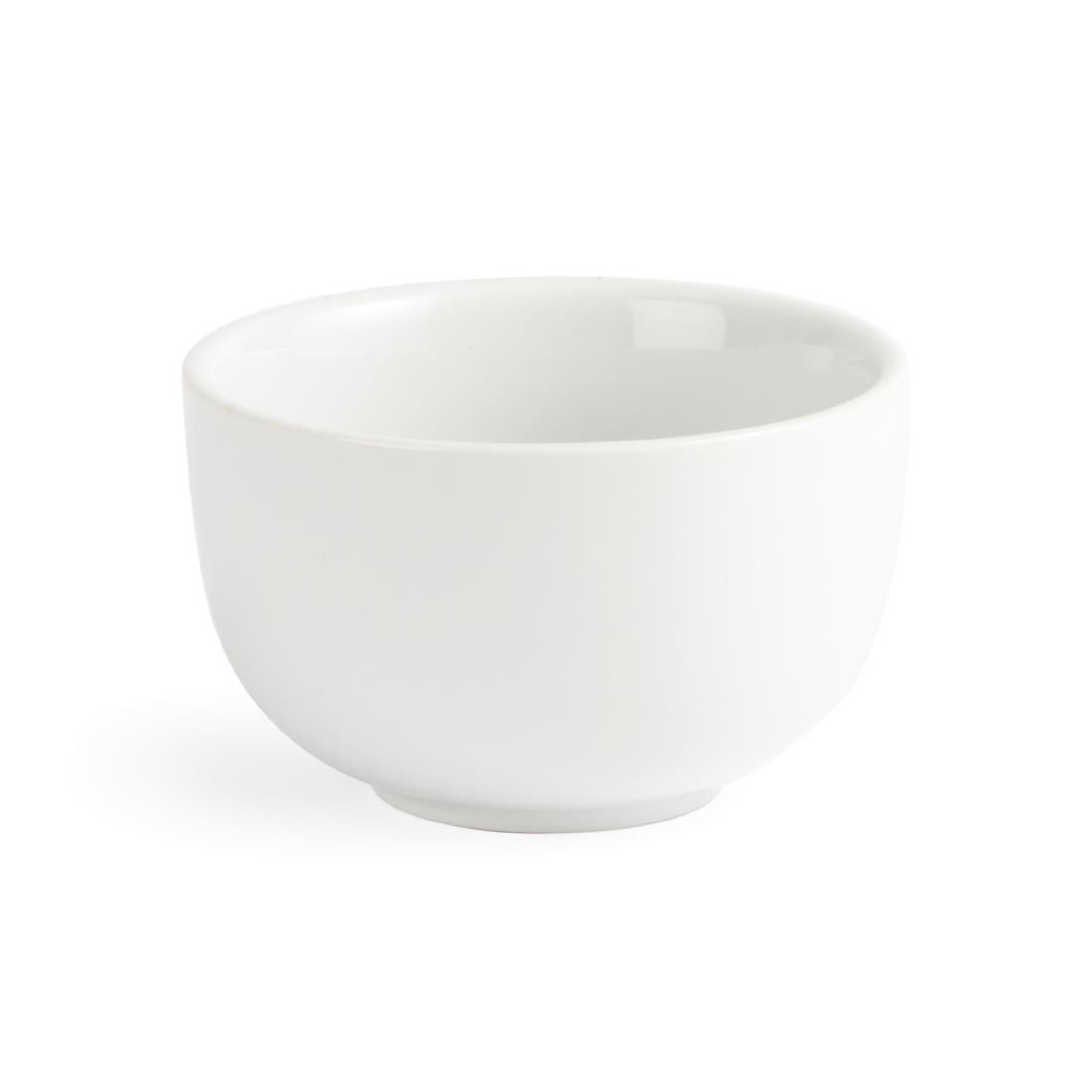 Olympia Whiteware Sugar Bowls 95mm 200ml