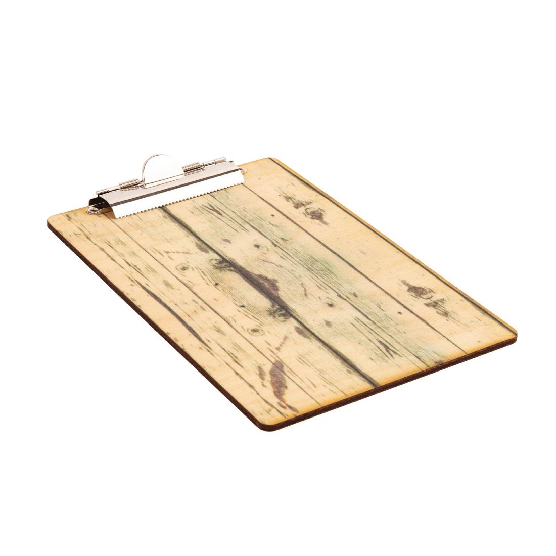 Olympia Wood Effect Menu Clipboard