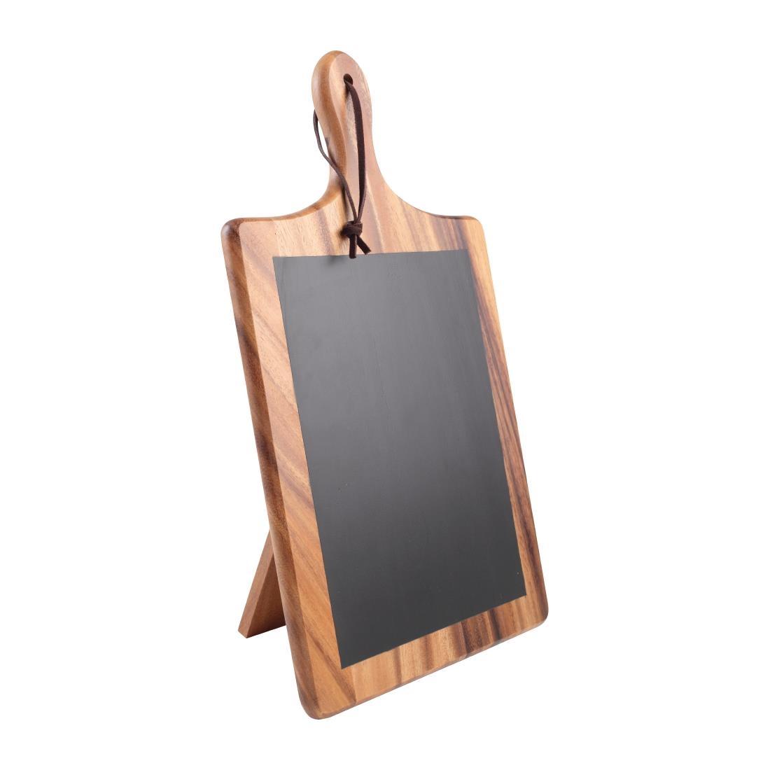 T&G Tuscany Paddle Chalk Board