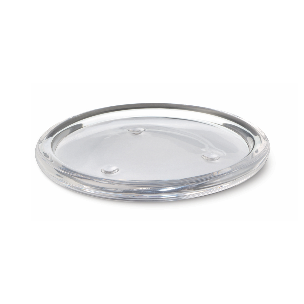 Glass Plate Holder Round