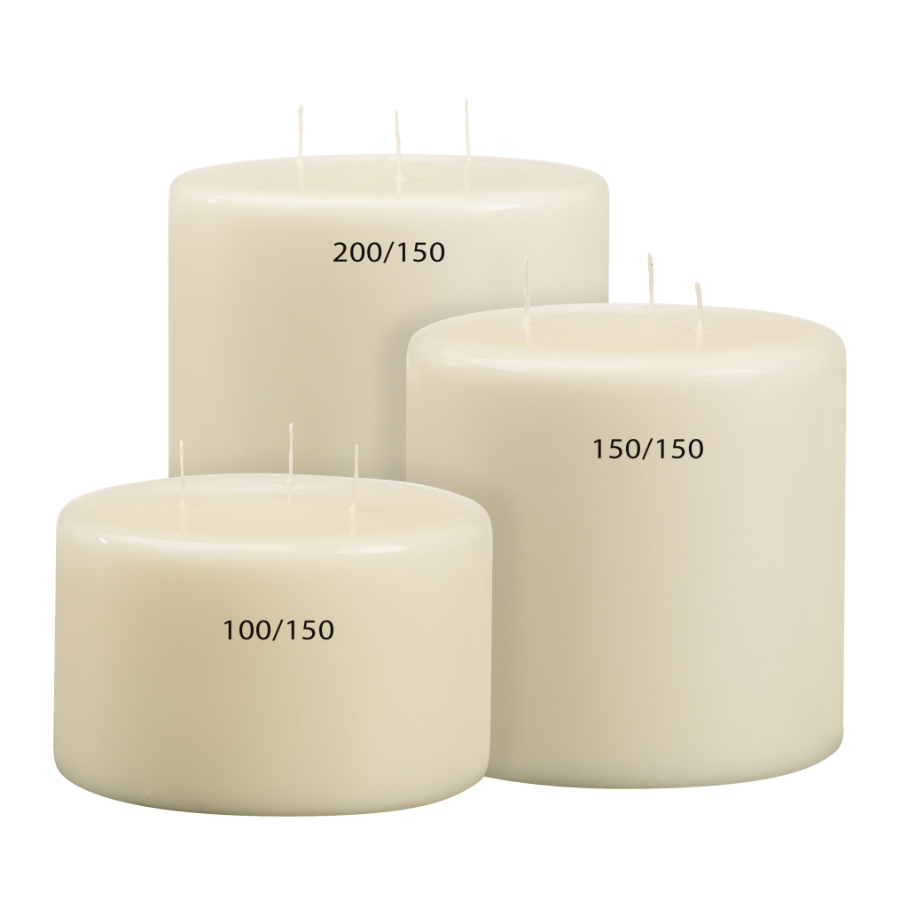Mammoth Candle Dimensions