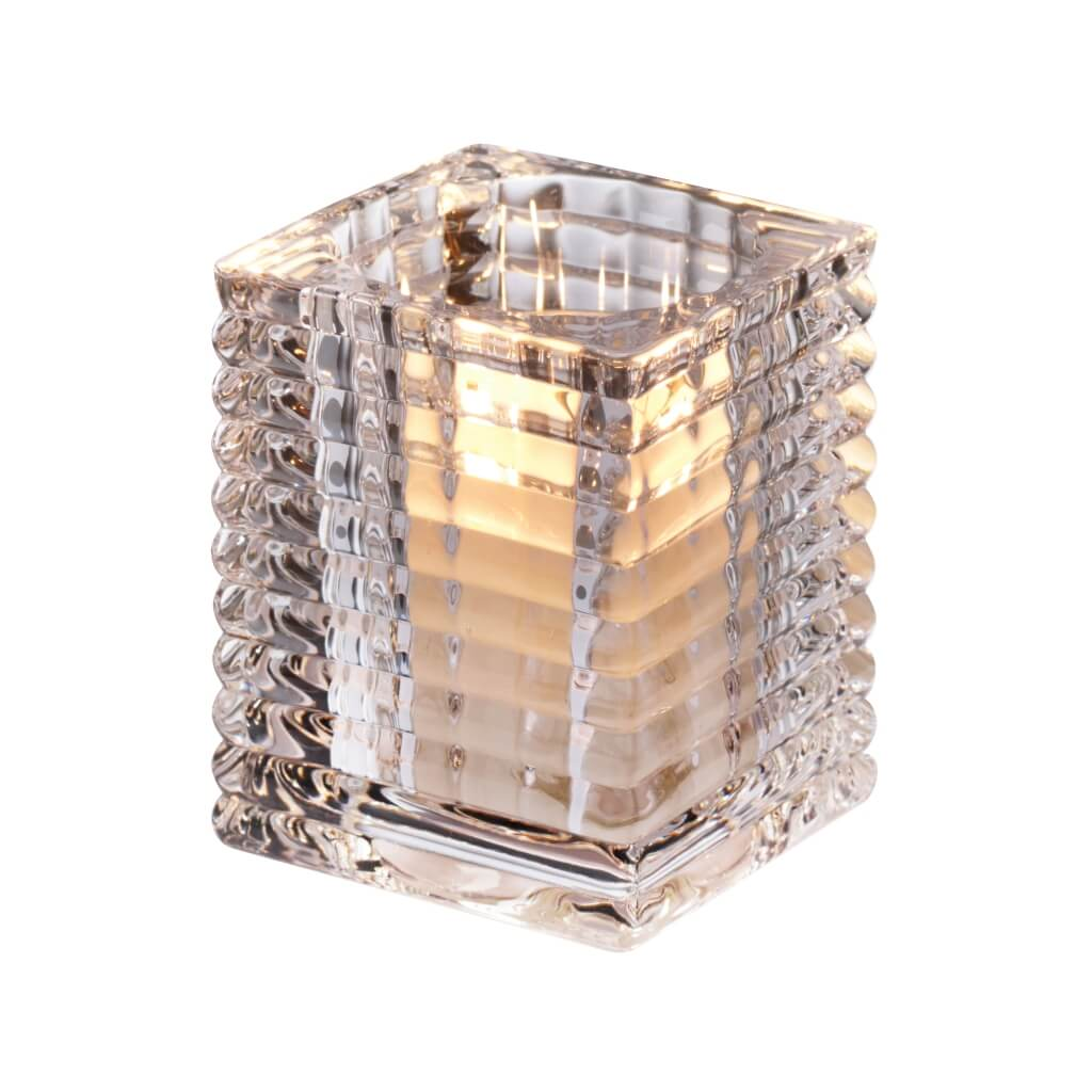 Relight Ribbed Holder - Square