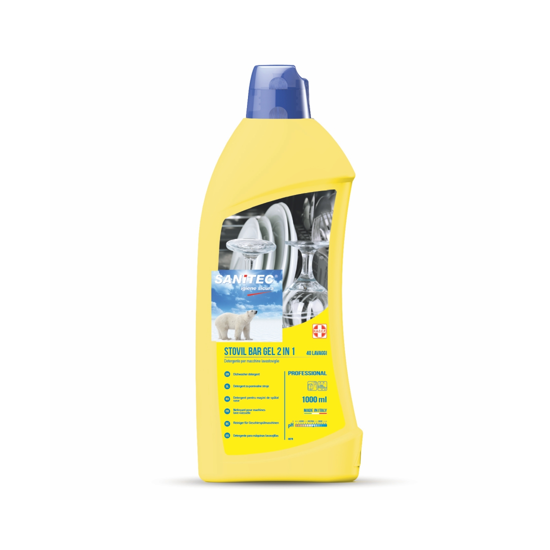 Stovil Bar Gel All in 1 Dishwash Product